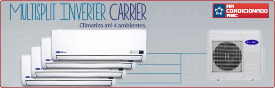 Ar Condicionado Multi Split Carrier